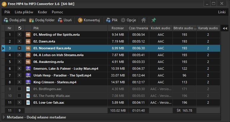 Free mp4 mp3 converter download.